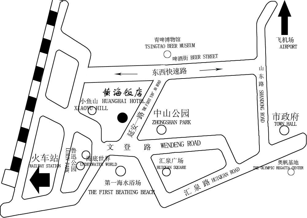 l  飞机场到黄海饭店:30公里 乘机场大巴终点后乘26,316,304,31,228